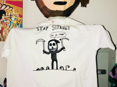"Stay Strange ""Are You Strange?"" Hand Of God Limited Edition T-Shirts main photo"