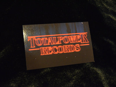 Total Power Records 'Stranger Things' Logo Sticker main photo