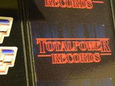 Total Power Records 'Stranger Things' Logo Sticker photo