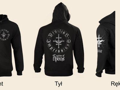 'Legion of Chaos' ZIPPED HOODIE main photo