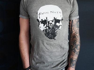 NEW!!!! Ltd Grey Skull T main photo