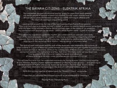 The Bayara Citizens Presents: Elektrik Afrika - CD Album Release. main photo