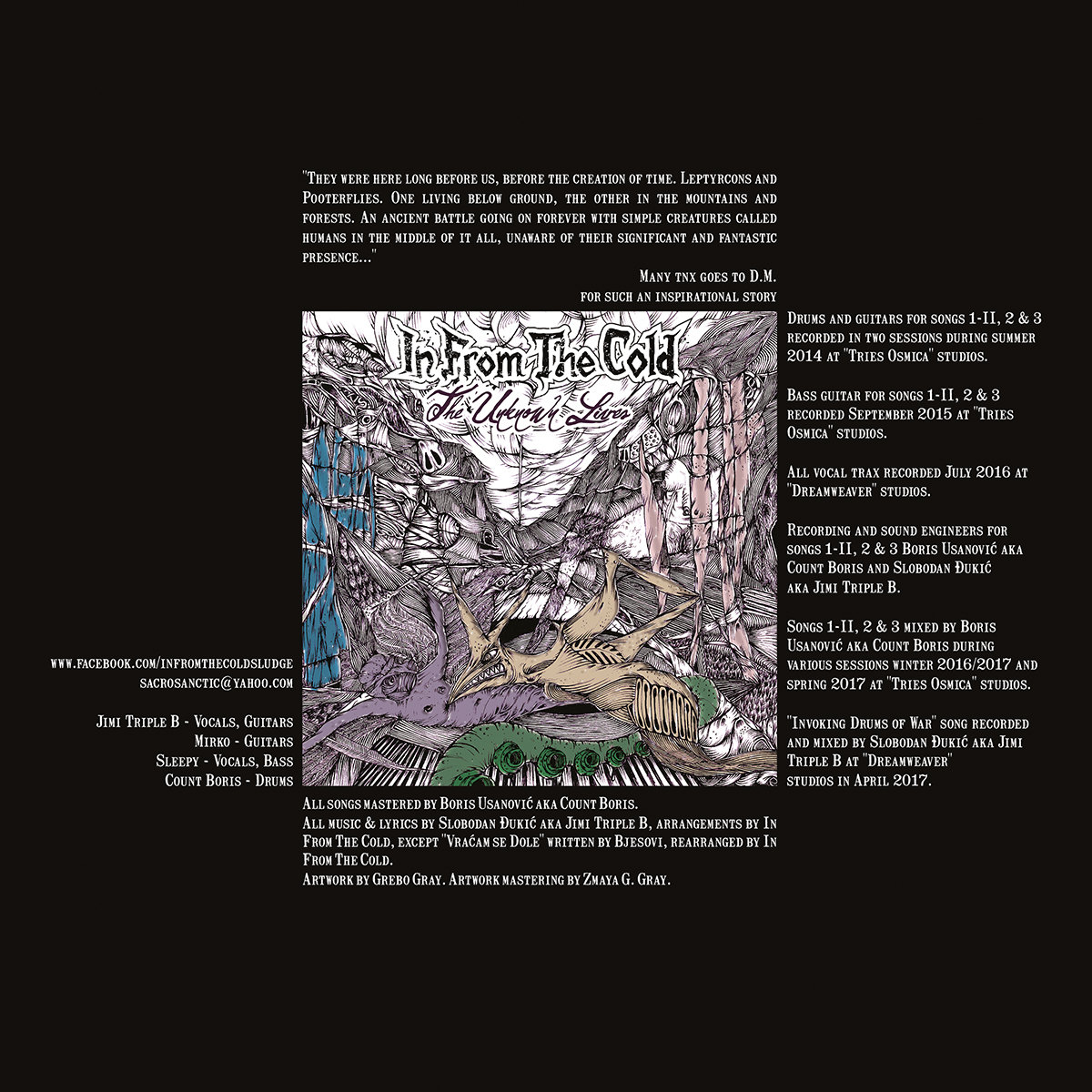 The Unknown Lives - I Invoking Drums of War II Lair of the Leptyrcon