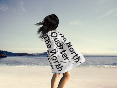 "The NQ Luxury Beach Towel ""Typo"" main photo"