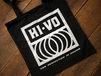 Limited Edition Hi-Vo Record Tote, BLACK main photo