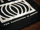 Limited Edition Hi-Vo Record Tote, BLACK photo