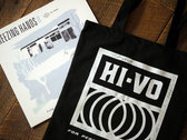 Limited Edition Hi-Vo Record Tote, BLACK photo