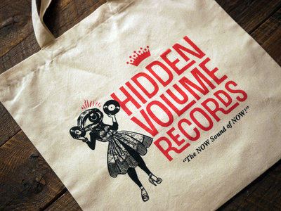 Limited Edition Hi-Vo Record Tote, CREAM main photo
