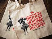 Limited Edition Hi-Vo Record Tote, CREAM photo