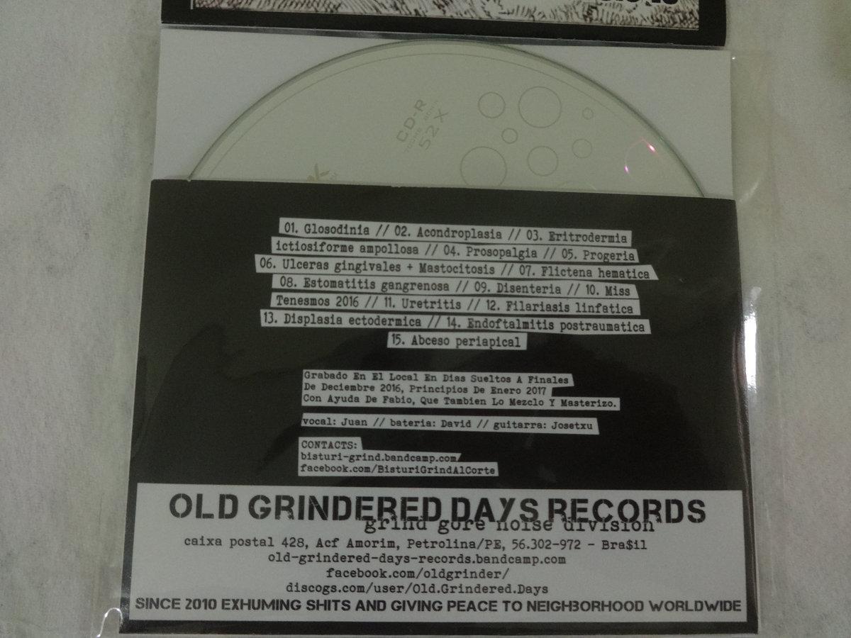 08 Estomatitis gangrenosa | Old Grindered Days Records