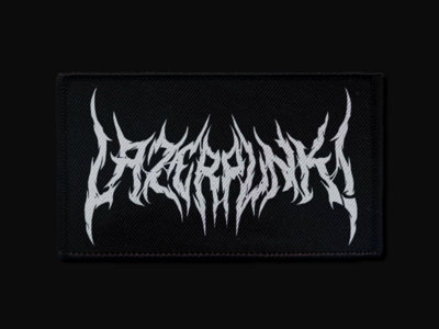 "LAZERPUNK ""BLVCK METAL"" Patch [Free shipping in Europe] main photo"