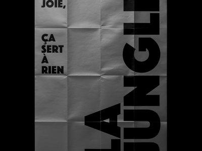 "Poster ""La Jungle"" - Sérigraphie main photo"