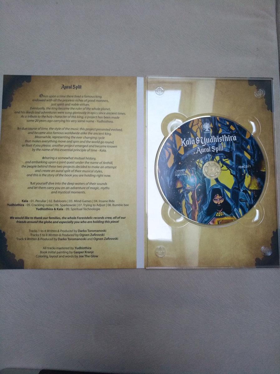Yudhisthira - Crackling Noise | Forestdelic Records
