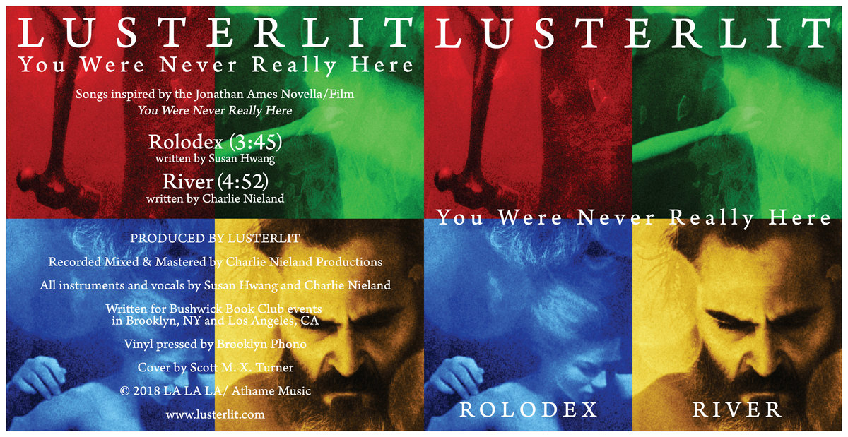7vinyl version of rolodex and river from you were never really here pressed on vinyl at brooklyn phono includes unlimited streaming of you were never
