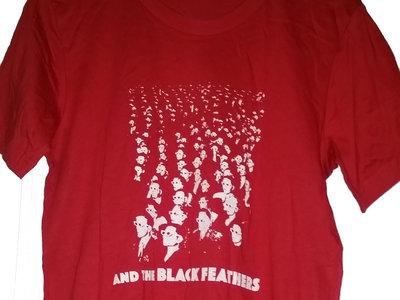Mens Crowd T-Shirt - Red main photo