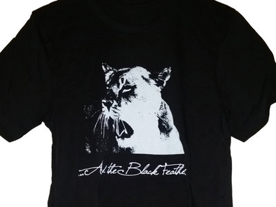 Mens Lion T-shirt - Black main photo