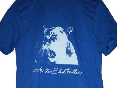 Mens Lion Shirt - Blue main photo