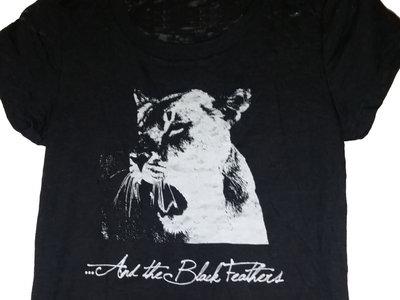 Ladies Lion Shirt - Black main photo