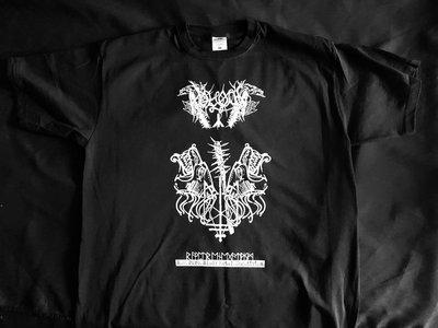 """Raw Pure Black Metal Negativism"" T-SHIRT main photo"