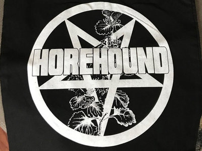 Horehound Tote Bag with Pentagram Logo main photo