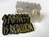Lebanon Hanover Metal Pin - Sadness is Rebellion photo