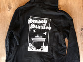 Smashed Statue - zipped hoodie photo