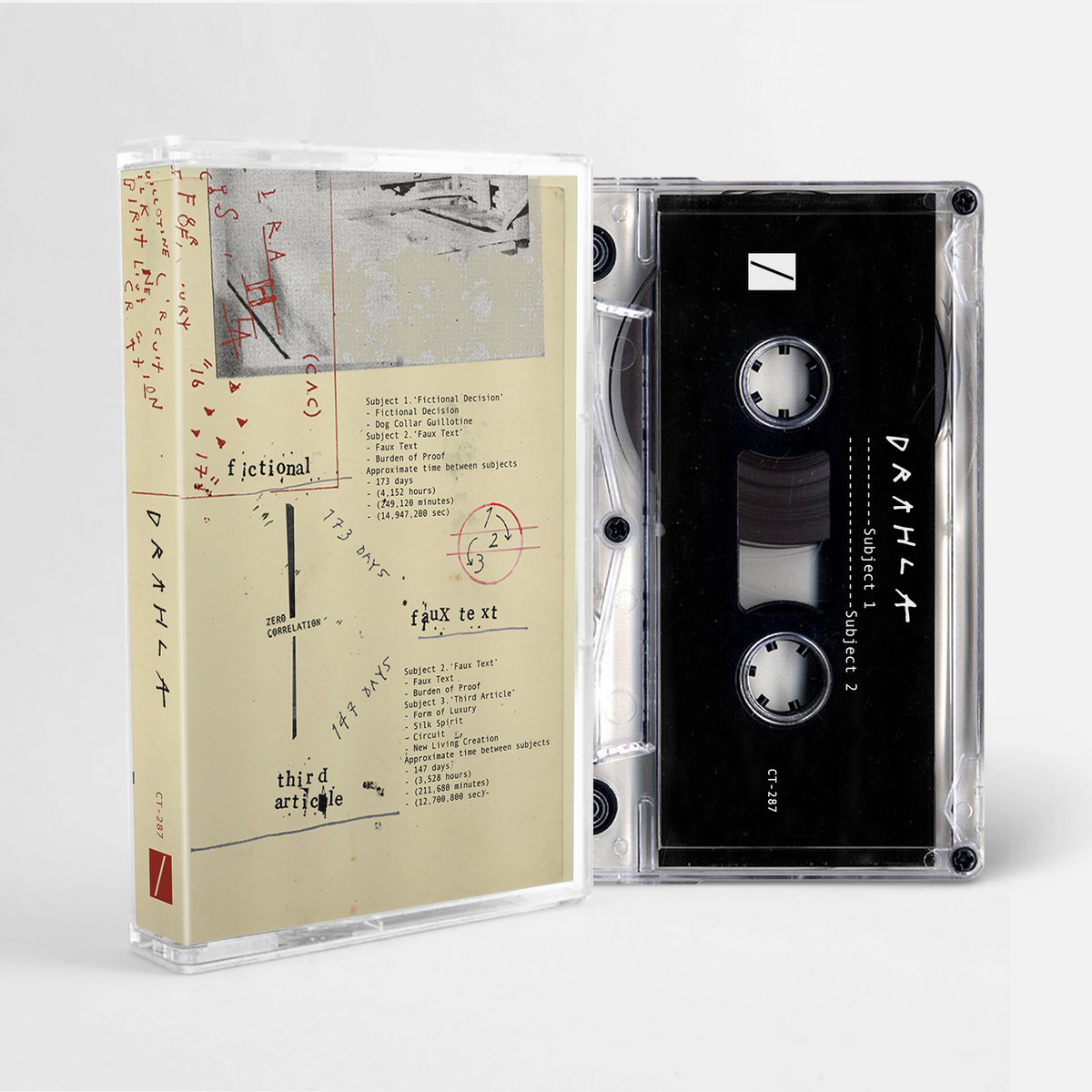 a compact cassette drahla