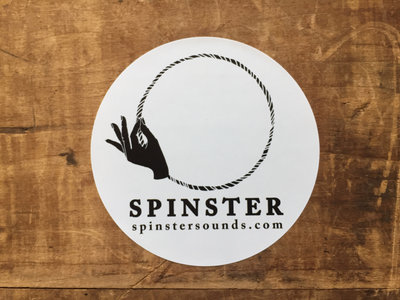 SPINSTER Logo Sticker main photo