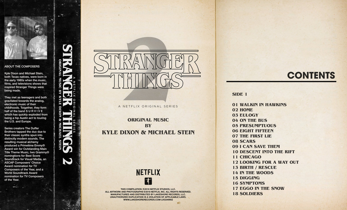 Stranger Things 2 | Kyle Dixon & Michael Stein