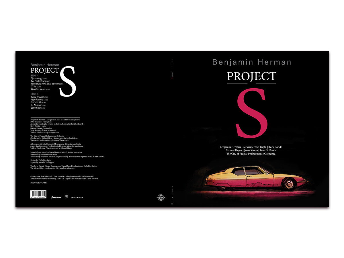 Project s benjamin herman vinyl release of the project s album by benjamin herman 180 gram audiophile vinyl limited edition transparent red expected shipping july 2018 malvernweather Images