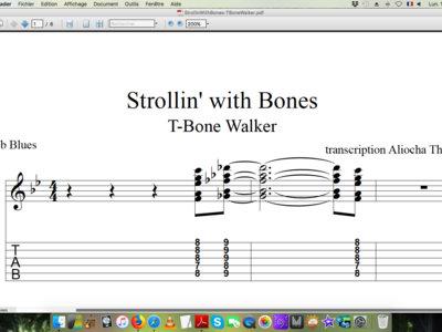 Bones notes