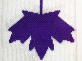 BAS-Canada blanc - logo mauve photo
