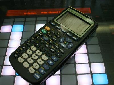 Texas Instruments TI-83 Plus Chiptune Edition main photo