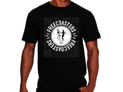 Freecoasters Dancing Skeleton Logo in Black main photo