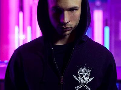 LAZERPUNK - DEATH & GLORY gang hoodie main photo