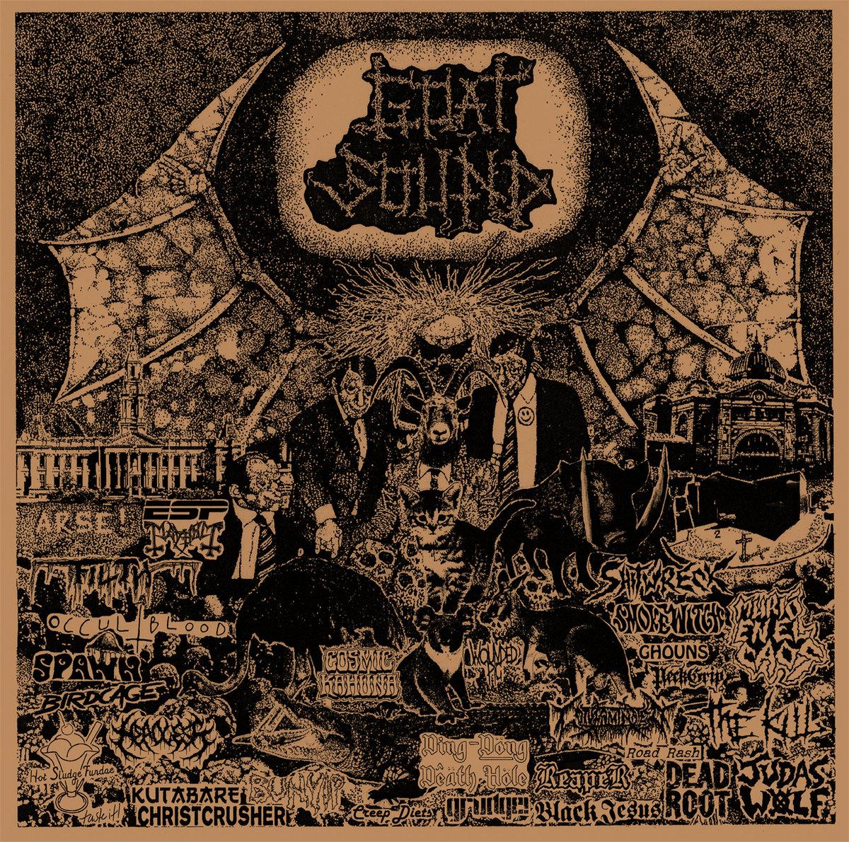 Goatsound Napalm Death Scum Reinterpretation Album Volume 3 New Beat Street Esp Black Solo About