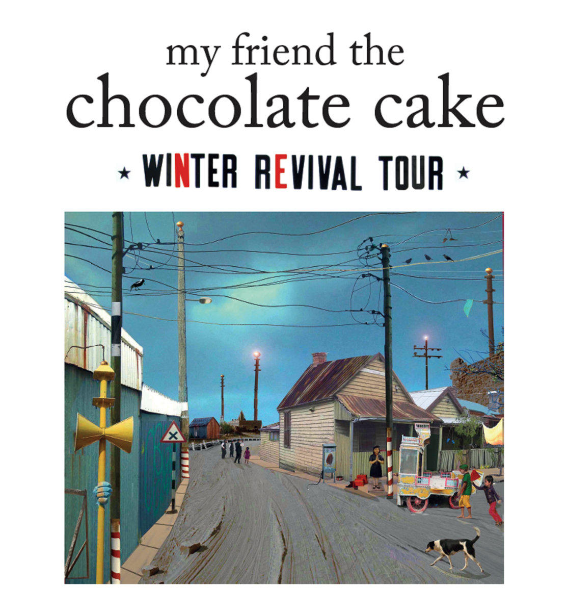 Winter Revival Tote Bags | My Friend The Chocolate Cake