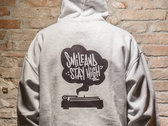 SMILE&STAYHIGH Hoodie - Grey (Man / Woman) photo