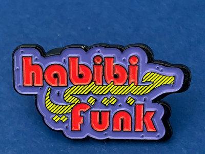 Habibi Funk Logo metal pin main photo