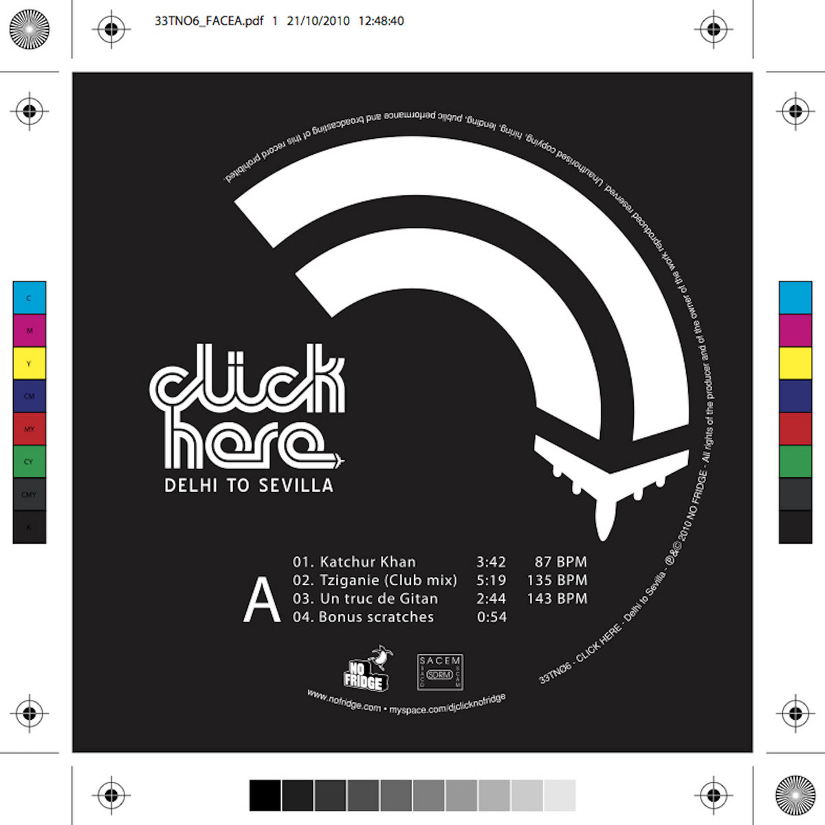 Delhi to Sevilla - LIMITED VINYL EP EDITION 6 tracks + bonus