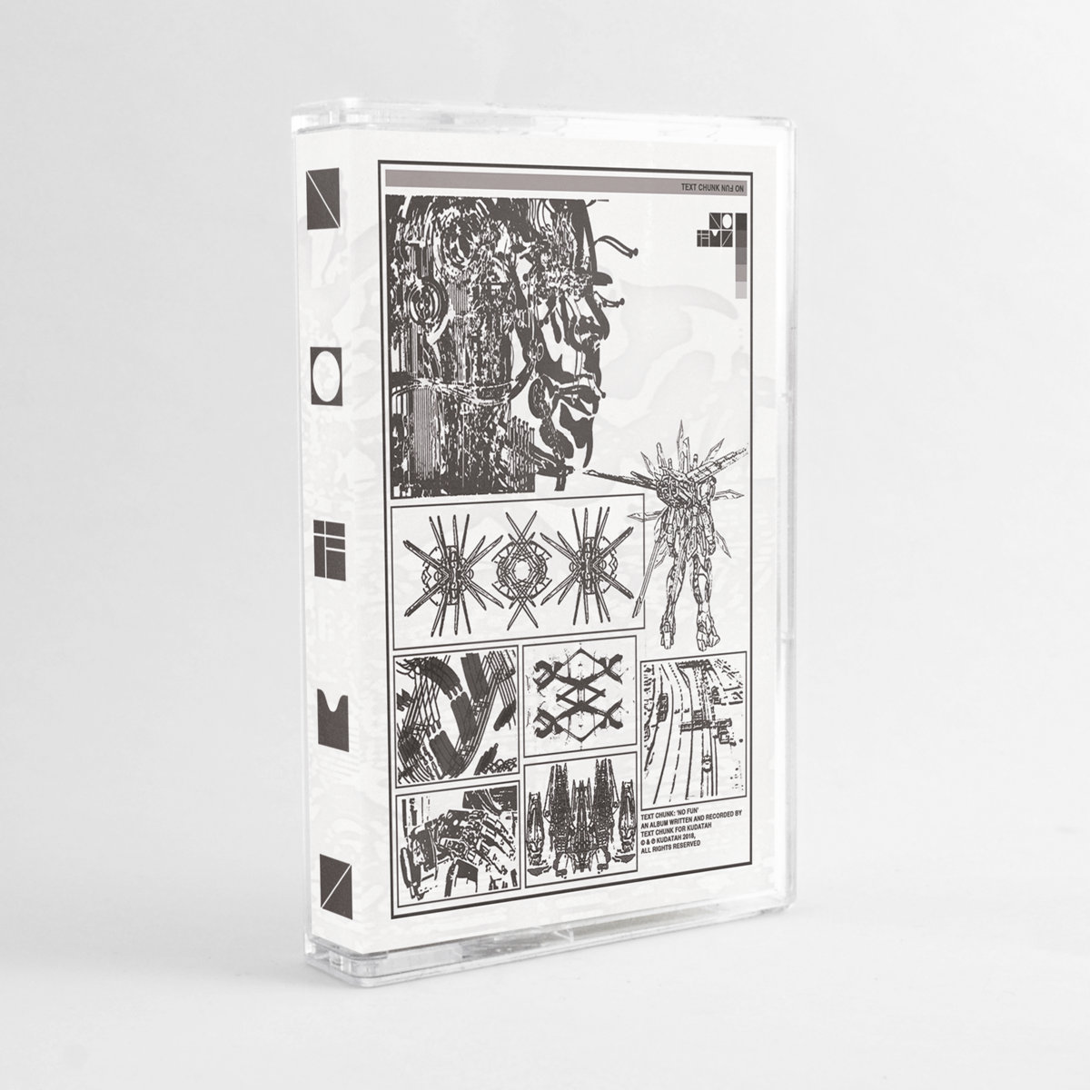 Limited Edition Silver Cassette With Color Paper Label Printing