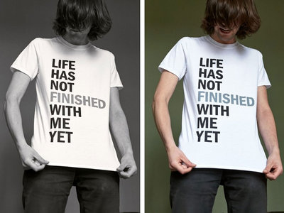 Piano Magic - 'Life Has Not Finished With Me Yet' t-shirt main photo