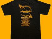 Phase Australian Tour T-Shirt (yellow/black) photo