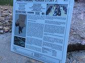 JAMES FERRARO - HUMAN STORY 3 - VINYL RECORD - CLEAR photo