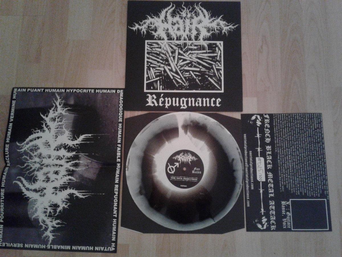 1er mini-album vinyle du groupe HAÏR 'REPUGNANCE' 0013450444_10