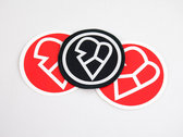 Love Love Records Sew/Iron-on Patch photo