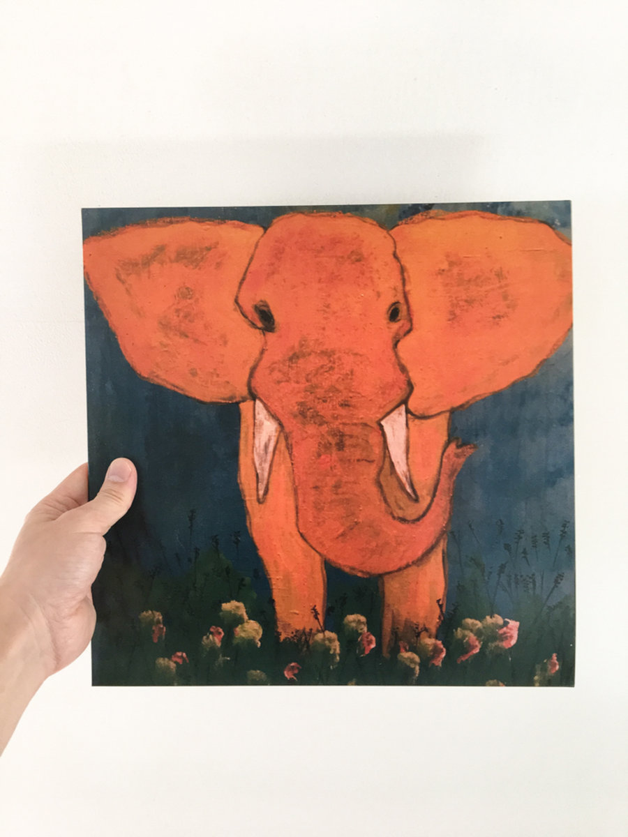 Elephant And A Barbar Ichiro Fujiya Takeshi Kurihara Young Red Finally Musilogues First Album Fujiyatakeshi Has Been Released On Vinyl Now If You Buy This Item Our Web