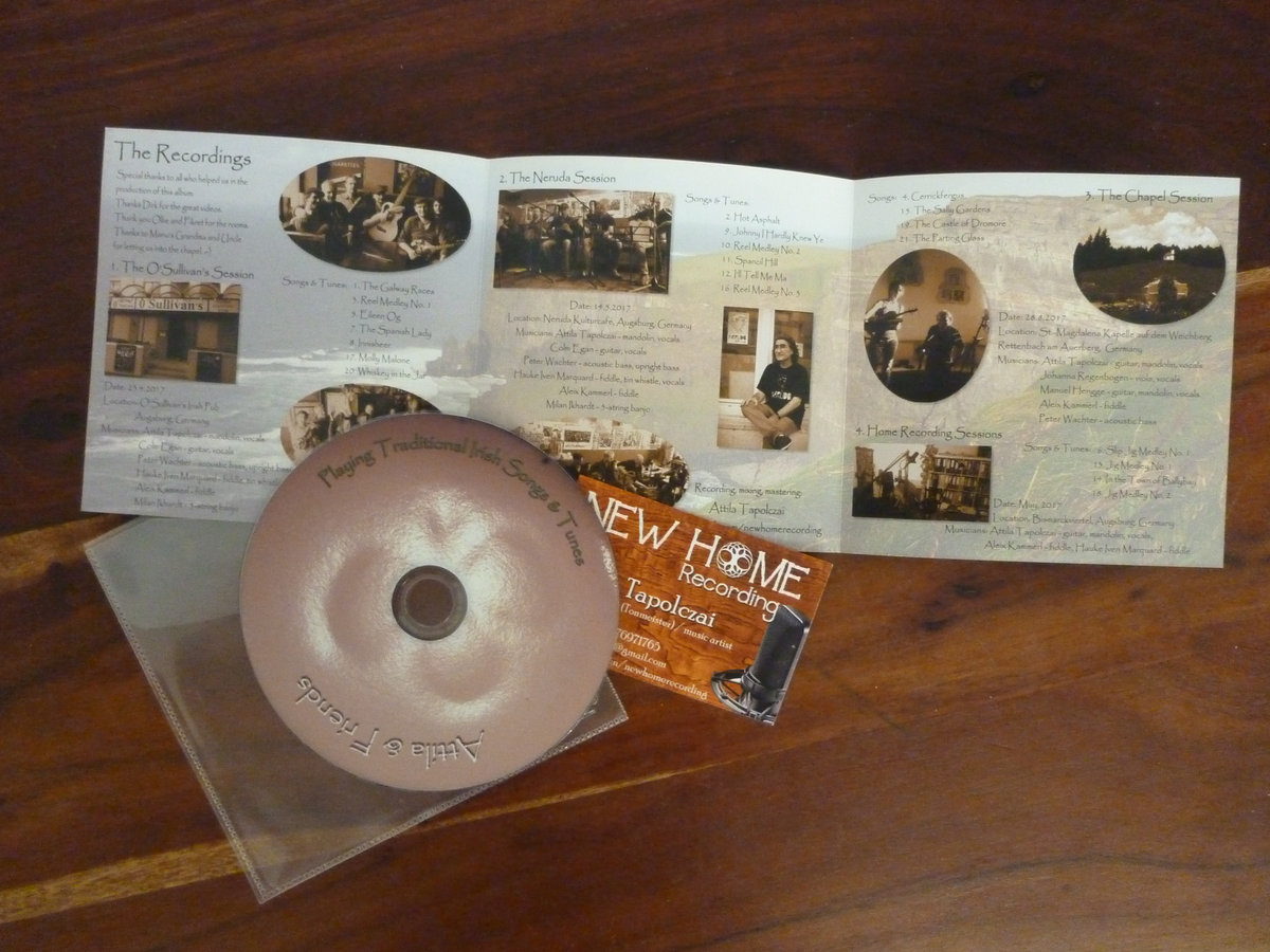 Playing Traditional Irish Folk Songs & Tunes | Attila & Friends