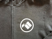 Grey Zipper Hoody photo