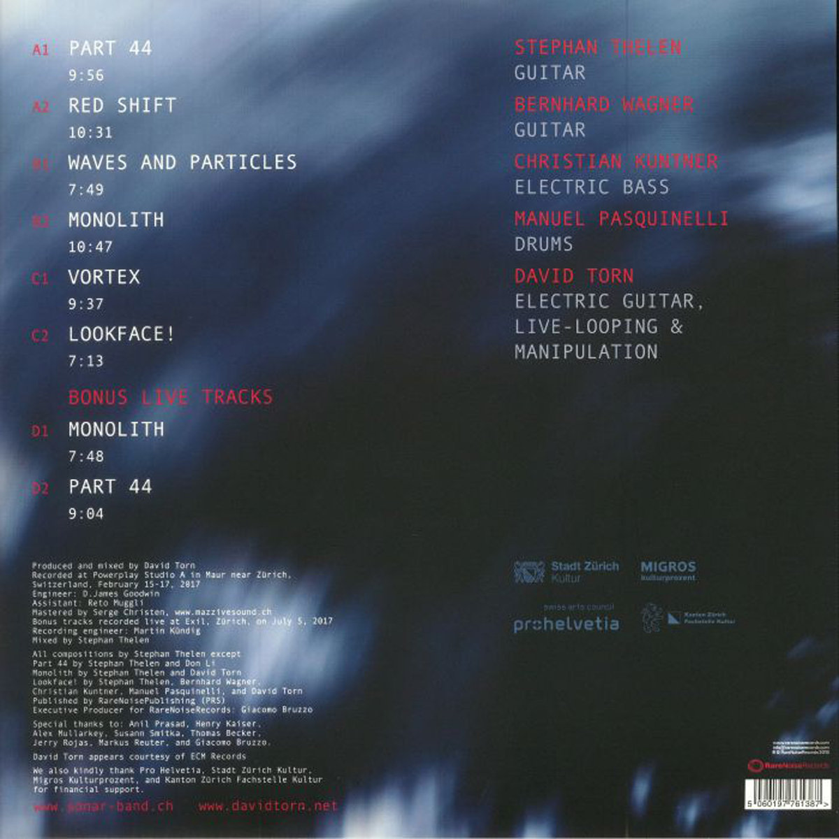 Vortex (w  David Torn)   Sonar